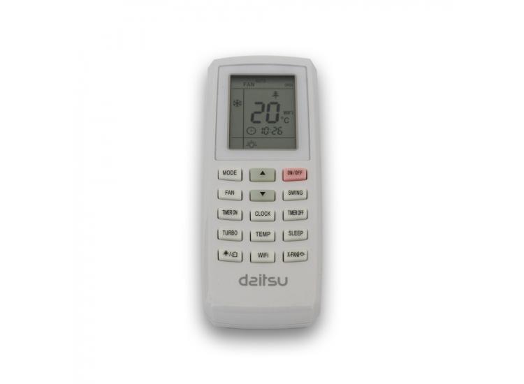 Dálkový ovladač k mobilní klimatizaci