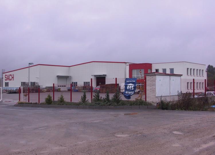 Výrobní hala Vlašim