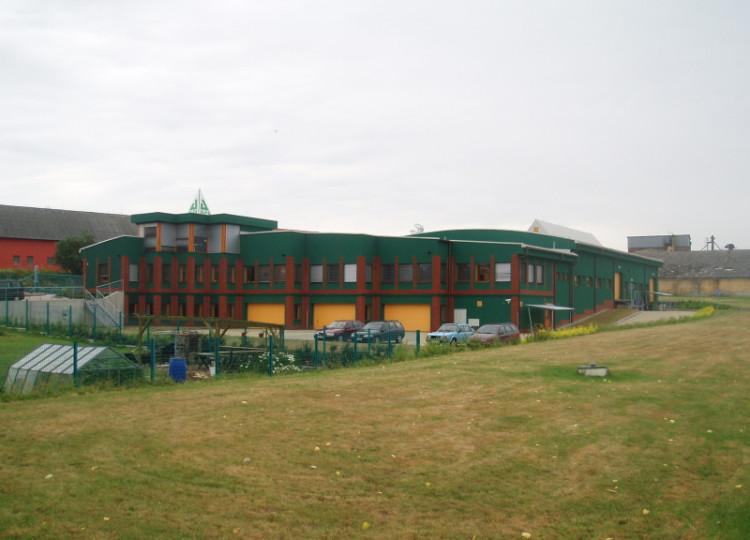 Výrobní hala Písek